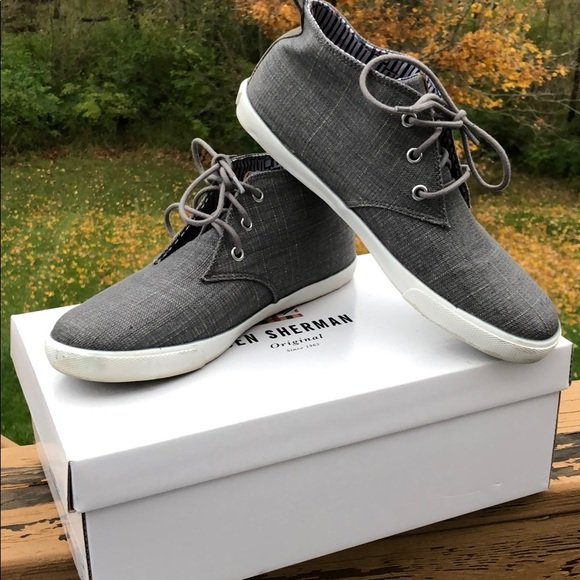 2c2fce7771c Ben Sherman Other - Ben Sherman Bristol Chukka Grey sneakers